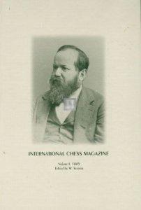 International Chess Magazine edited by Steinitz - 7 volumes