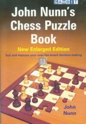 John Nunn's chess puzzle book - New Enlarged edition
