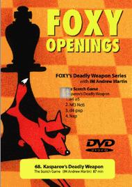 Kasparov's Deadly Weapon, the Scotch Game - DVD