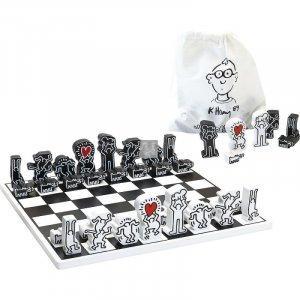 Set di scacchi Keith Haring