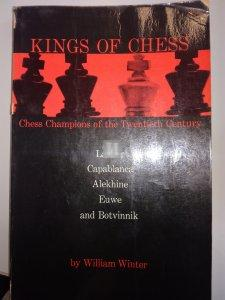 Kings of  Chess - William Winter - 2nd hand