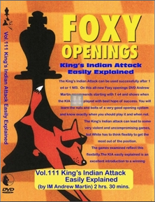 King's Indian Attack easily explained - DVD