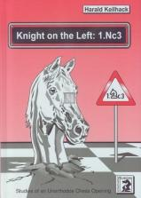 Knight on the left: 1.Nc3