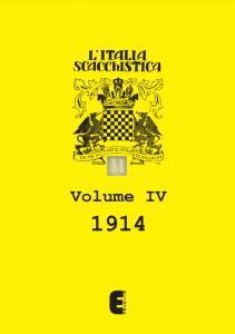 L'Italia Scacchistica volume IV - 1914