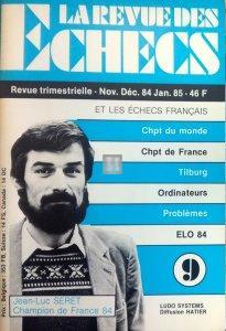 La revue des Echecs n.9 and 10 1984/1985 - 2nd hand