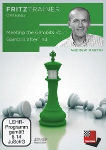 Meeting the Gambits Vol.1 - Gambits after 1.e4 - DVD