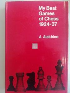 My Best Games of Chess 1924-1937 Alekhine -2nd hand