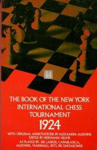 The Book of the New York International Chess Tournament 1924 - 2nd hand