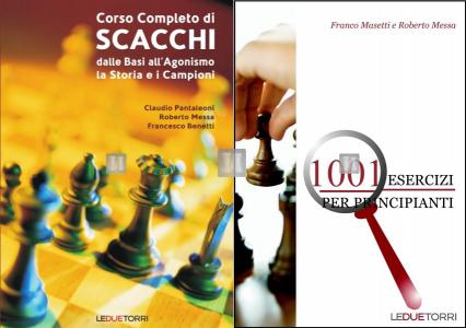 Corso Completo di Scacchi + 1001 Esercizi per principianti - 2 LIBRI