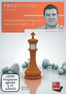 A Complete Black Repertoire versus the English, 1...e5 - DVD
