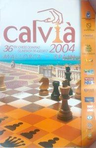 Calvià Olimpiadi 2004 Locandina originale - 2a mano molto rara