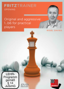 Original and aggressive: 1...b6 for practical chess players - DVD