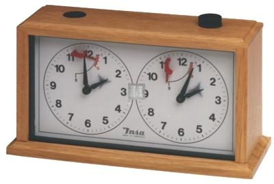 Chess clock - Insa (in wood)