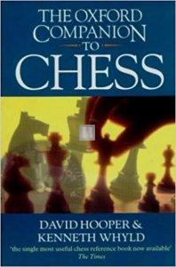 The Oxford Companion to Chess - 2nd hand
