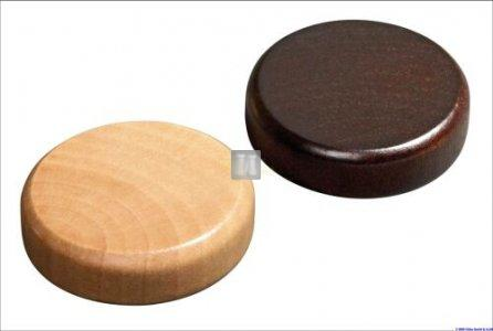 20 mm Pedine per Dama in legno