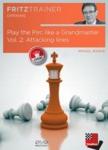 Play the Pirc like a Grandmaster Vol. 2: Attacking lines - DVD