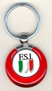 Italian Chess Federation official key-ring