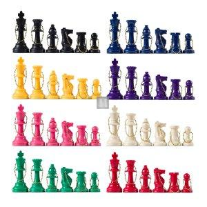 Chess Keychains Pieces