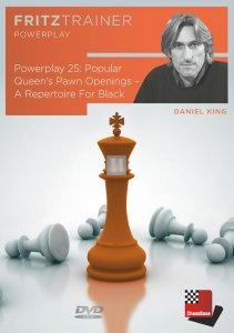 Power Play 25: Popular Queen's Pawn Openings - A Repertoire For Black