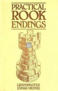Practical Rook Endings GM Edmar Mednis - 2nd hand rare