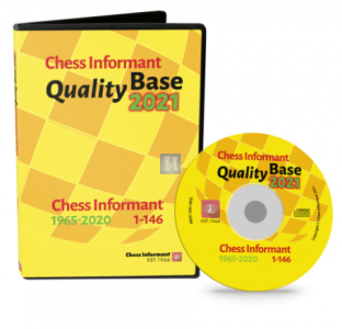 Quality Base 2021: Chess Informant 1965-2020  1-146 (DVD-ROM)