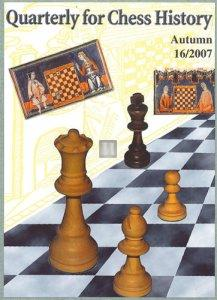Quarterly for Chess History - 18 volumes