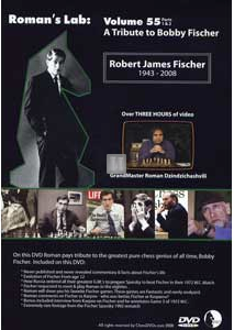 Roman`s Lab: a Tribute to Bobby Fischer - DVD