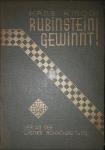 Rubinstein gewinnt! - 2n hand rare