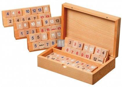 Rummy in legno - gioco da tavolo