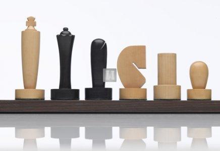Berliner boxwood chess set - King mm 100