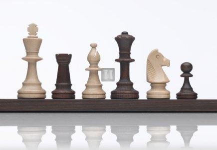 Standard chess set - King mm 90
