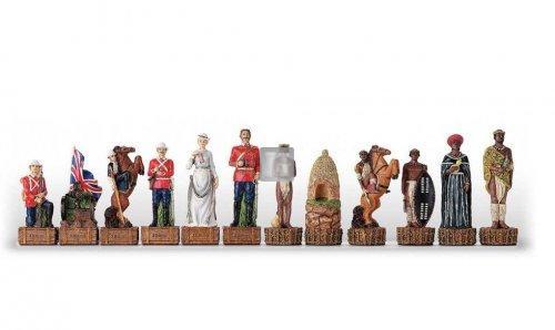 British Army vs Zulù - chesspieces