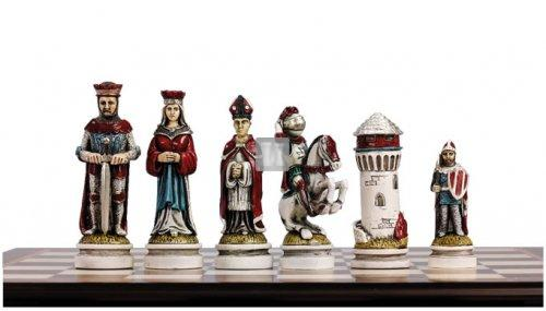 Medieval Chess Set King 111 mm