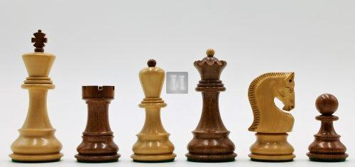 Russian Staunton boxwood set - King mm 95