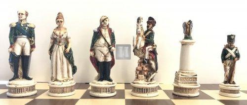 Borodino War - chesspieces (Napoleon vs Russia)