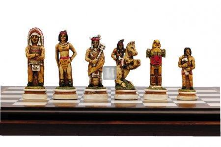 Wild West Chess Set