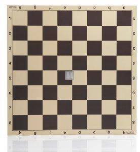 48 x 48 Scacchiera da torneo in cartone rinforzato 710N