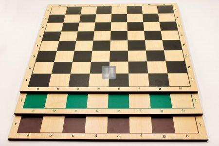 Scacchiera da torneo con lettere e numeri in legno MDF