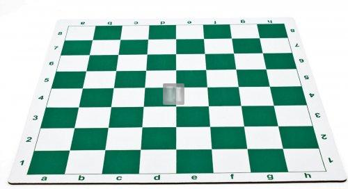 Mousepad Chessboard - green and white