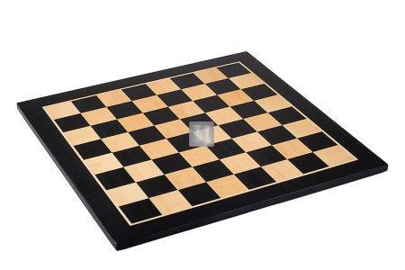 54,5 x 54,5 Scacchiera da torneo in acero. casella 58mm. - 734BLACK