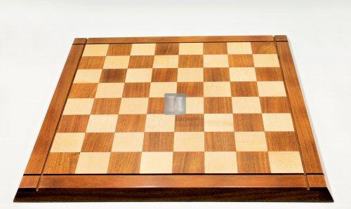 "53,5 x 53,5 Chessboard ""Drueke"" design Acaciawood and Boxwood"