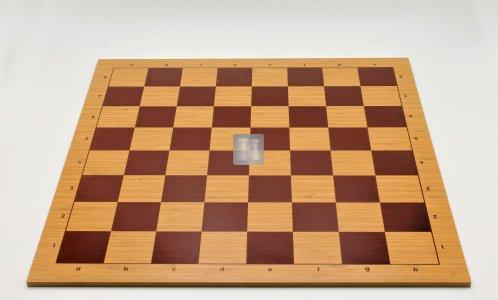 50 x 50 Scacchiera da torneo in MDF. Con lettere e numeri, casella 55mm
