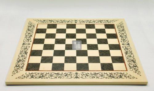 Tournament Chessboard - Glossy finish Maple