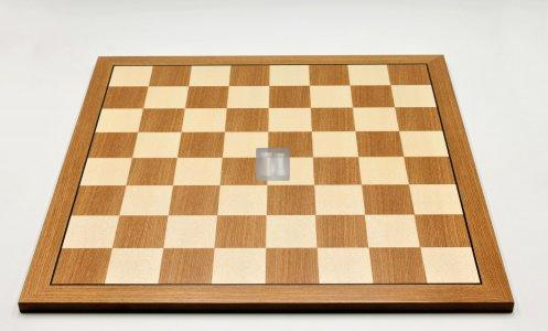 50 x 50 Tournament Chessboard  - Elm and Maple