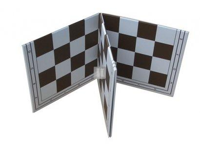 Tournament Folding Chess Board with 2.25 Squares - Double Fold