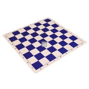 Silicone tournament chessboard - blue