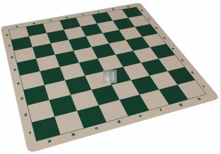 Silicone tournament chessboard - Green