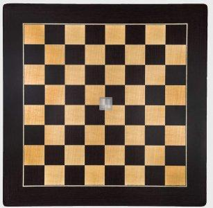 Tournament Chessboard - wengue and sycamore wood