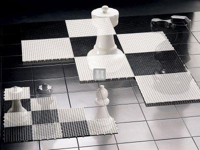Giant Plastic Chessboard