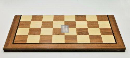 Folding Wooden Chessboard with Notation